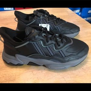 Adidas Ozweego Black Gray Shoes Sneakers Mens 9